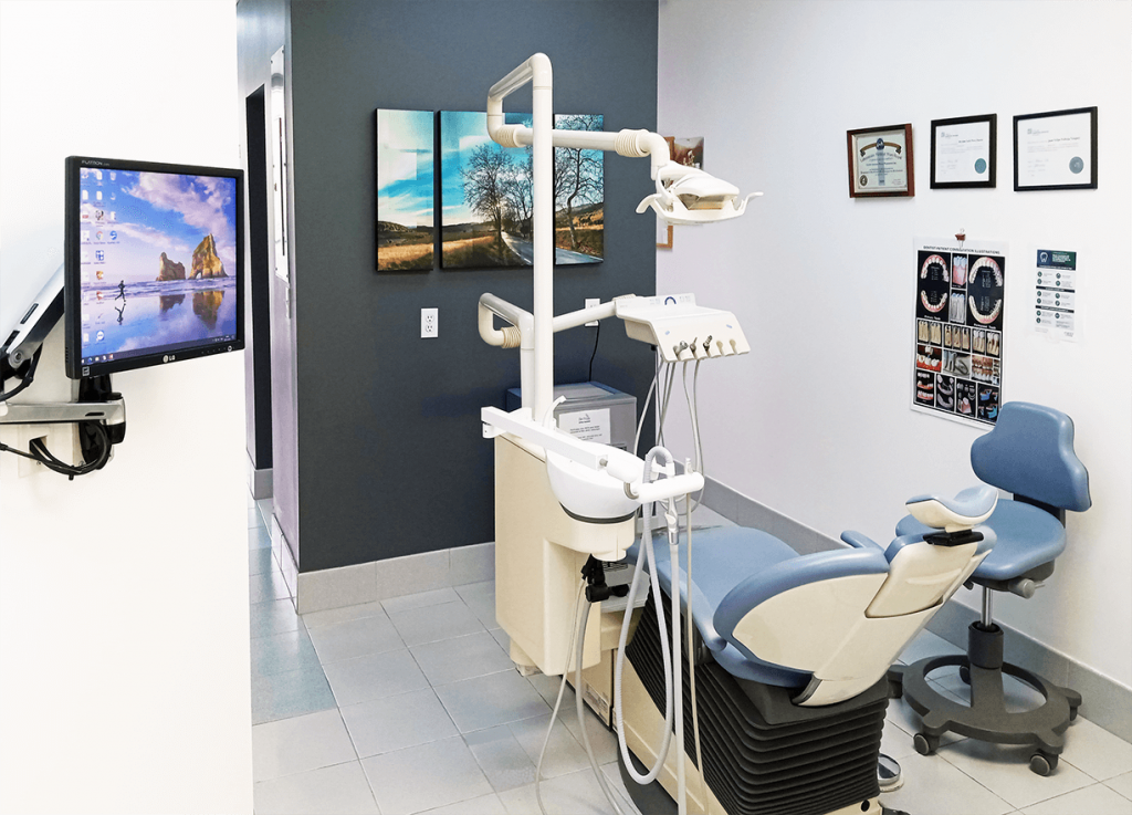Montreal Westmount Dental Clinic Interior Room 1
